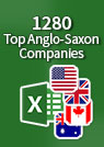 1280 Top Anglo-Saxon Companies – Excel Workbook