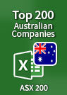 Top 200 Australian Companies – Excel Spreadsheet