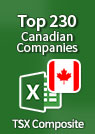 Top 230 Canadian Companies – Excel Spreadsheet