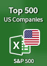 Top 500 US Companies – Excel Spreadsheet