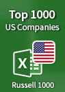 Top 1000 US Companies – Excel Spreadsheet