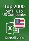 Top 2000 US Small-Cap Companies [Russell 2000] – Excel Download