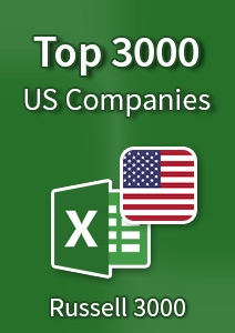 Top 3000 US Companies - Excel Spreadsheet