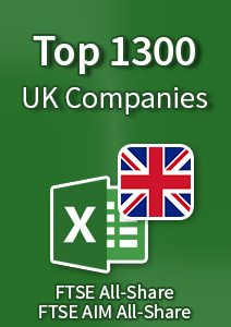 Top 1300 UK Companies – Excel Download