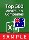 Top 500 Australian Companies [All Ordinaries] – Excel Download sample
